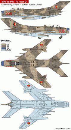 """MiG-19 PM NATO Code """"Farmer-D"""""""