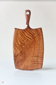 Hand crafted ash wood serving board