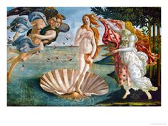 I spent a semester dissecting this painting... Birth of Venus by Botticelli