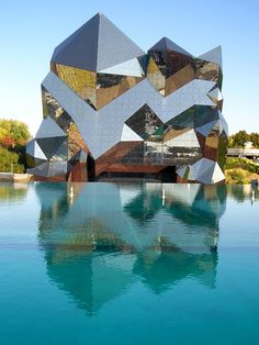 The Kinémax Cinema located in the Futurescope theme park in France
