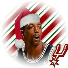Spurs Sean Elliott. Merry Christmas Spurs Fans