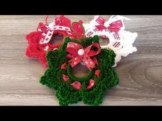 Mini Ghirlanda Uncinetto 🎀 Natale Tutorial 🎄 Mini Wreath Christmas Crochet - Mini Corona Navidad - YouTube Crochet Christmas Wreath, Crochet Wreath, Christmas Crochet Patterns, Christmas Wreaths, Christmas Ornaments, Xmas, Learn To Crochet, Easy Crochet, Amigurumi Tutorial