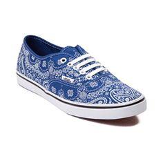 Blue Lo Pro Bandana Vans
