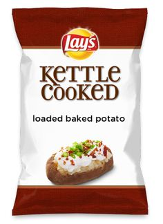 Wouldn't loaded baked potato be yummy as a chip? Lay's Do Us A Flavor is back, and the search is on for the yummiest flavor idea. Create a flavor, choose a chip and you could win $1 million! https://www.dousaflavor.com See Rules.
