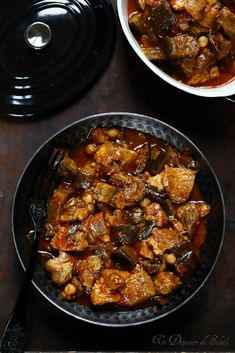 Koresh meat casserole with eggplant Meat Recipes, Seafood Recipes, Healthy Dinner Recipes, Exotic Food, Vegan Dinners, Zucchini, Cooking, Moussaka, Caponata
