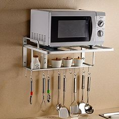 Space Aluminum Microwave Oven Wall Mount Double Shelf She... http://www.amazon.com/dp/B019EXOWOS/ref=cm_sw_r_pi_dp_ZSzvxb0YRK7DA