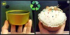 alfileteros con latas de atun - Buscar con Google