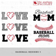 These Baseball Design files are for use in your Silhouette Studio, Cricut, or other programs that can read .ai, .dxf, .eps or .svg files. It