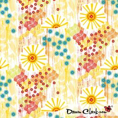 Sunscape, by Dawn Clarkson http://niceandfancy.blogspot.it