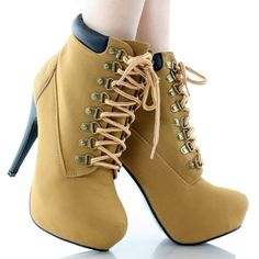 JJF-Shoes-Compose01-Camel-Tyrant-Military-Lace-Up-Platform-Ankle-Bootie-Stiletto-High-Heel-8-0-2