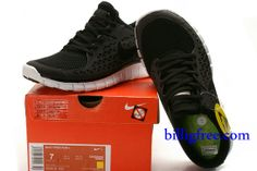 sneakers for cheap 80b75 b4c6a Billig Herren Schuhe Nike Free Run + (Farbe vamp,innen,Logo-schwarz Sohle-weiB)  Online in Deutschland.