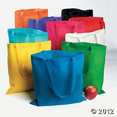 50 bags for $31.50.  Read to Self?  Hang around the room with command hooks?  Store on the inside of closet doors?
