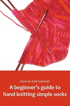 A beginners guide to hand knitting simple socks A Beginner's guide to hand knitting simple socks Hand knitting. A beginners guide to hand knitting simple socks - knitting socks , Easy Knitting, Knitting For Beginners, Knitting Socks, Knitting Stitches, Knitting Needles, Simple Knitting Projects, Knitting Humor, Crochet Humor, Crochet Projects