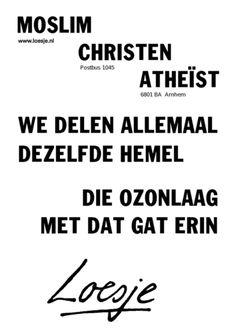 Klik op de poster om hem als PDF te openen.on loesje.nl