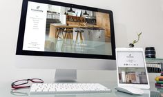 Responsive web design and build for Essentially Ashgrove Kitchens White Space Advertising – Design and Web agency based in Devon