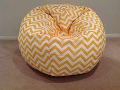 Bean Bag Zig Zag Kids Bean Bag Cover Chevron Bean Bag