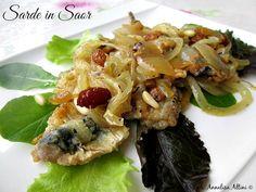 SARDE IN SAOR Ricetta secondo piatto di pesce