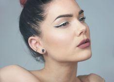 Wearing Anastasia Beverly Hills Liquid Lipstick - CRUSH