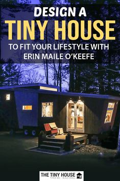 Erin Maile O'Keefe is a talented designer who designed and built the Paper Boat tiny house for herself and her husband, where they live in the backyard of a house that they own. Tiny House Builders, Building A Tiny House, Tiny House Plans, Tiny House On Wheels, Tiny House Family, Tiny House Living, Cheap Tiny House, Life Philosophy, Boat Design