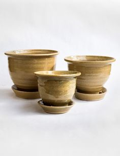 This Glazed Ceramic Planter Is A Clic Hand Thrown In The Pacific Northwest By