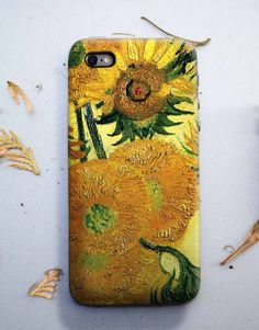 Sunflowers Van Gogh iPhone 6 Case, iphone 6S plus case, Samsung galaxy cover, HTC case, LG G4 Case and others