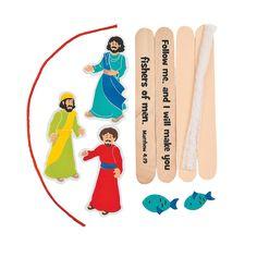 Fishers of Men Craft Kit - Oriental Trading