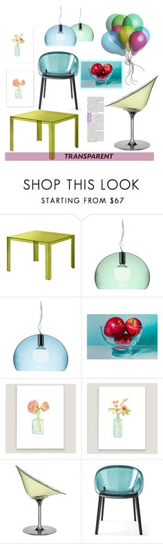 """Transparent Home"" by youaresofashion ❤ liked on Polyvore featuring interior, interiors, interior design, home, home decor, interior decorating, Kartell, NOVICA, Cost Plus World Market and CALLIGARIS"