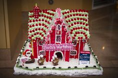 Gingerbread house - Inn at Laurel Point, Victoria BC