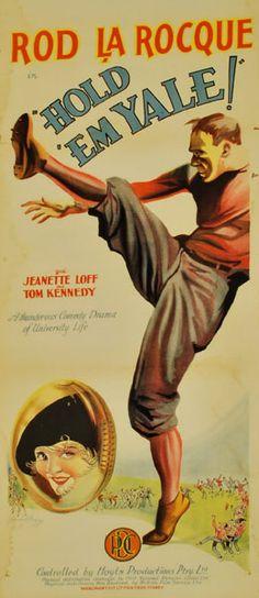 Hold 'Em Yale (1928) Stars: Rod La Rocque, Jeanette Loff, Hugh Allan ~  Director: Edward H. Griffith