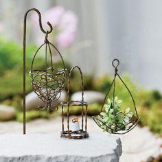 Amazon.com: Miniature Fairy Garden Wire Accessory Set: Patio, Lawn & Garden