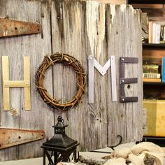 How to Make Decorative Letters with Paint Sticks