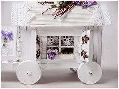 Dziś wykonamy wóz , który tak Wam się spodobał:)   wersja wcześniejsza, etapy bez kursu               http://annakrucko.blogspot.com/search...