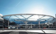 Vehovar Jauslin Architektur AG, Bus Station Roof and Train Station Forecourt, Aarau, Switzerland Pvc Canopy, Hotel Canopy, Wooden Canopy, Canopy Bedroom, Backyard Canopy, Door Canopy, Fabric Canopy, Tree Canopy, Canopy Outdoor