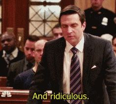 "When he went all ADA on someone's ass. | Community Post: 14 Times Rafael Barba From ""Law & Order: SVU"" Was The Man"