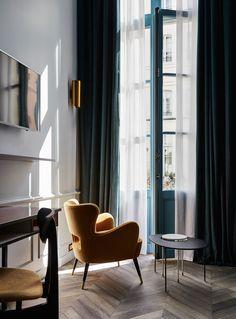 Отель The Hoxton в Париже: фото интерьеров в старинном здании XVIII века   AD Magazine