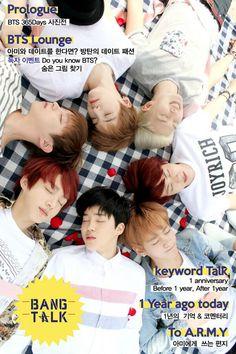 BTS FESTA SPECIAL MAGAZINE BANG TALK (Fancafe update)