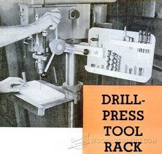 3904-Drill Press Tool Rack