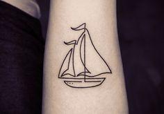 18 tatuagens feitas com linhas contínuas para você copiar já