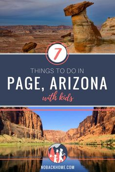 Top things to do in Page Arizona with kids. Don't just pass through from the Gra. - Top things to do in Page Arizona with kids. Don't just pass through from the Grand Canyon to Zion - New Orleans, New York, Family Road Trips, Road Trip Usa, Las Vegas, Travel With Kids, Family Travel, Summer Travel, Us Vacation Spots