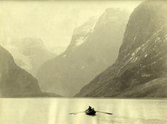 Norway, Nordfjord, Loenvandet 1890 (by Lofoten, Hiking Tours, Snow Skiing, Beautiful Waterfalls, Historical Sites, Finland, Denmark, Norway, Scandinavian
