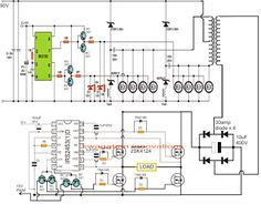 Inverter Circuit Diagram Without Transformer | Multiple Output Smps Circuit Electronics Pinterest Power