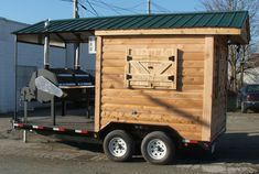 BBQ Shed Concession Trailer    Price: $24,650