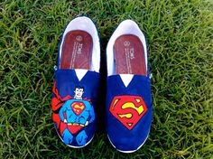 For my dear sister who is obsessed with superman.... yup that's Leann