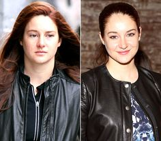 Shailene Woodley - LEFT: shooting The Amazing Spider-Man 2 in New York City on Feb. 25, 2013 - RIGHT: attending Rebecca Taylor's fashion show in New York City on Feb. 9, 2013