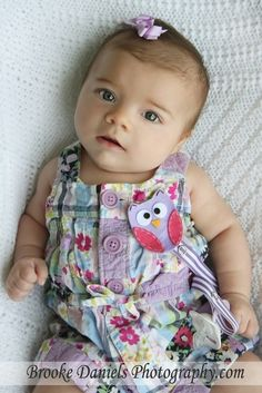 Cute paci clip and outfit