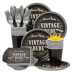 Vintage Dude Party Ideas, Supplies and Decorations | WholesalePartySupplies.com