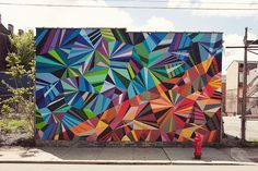 Matt W Moore.    I want a wall so I can paint something amazing like this.