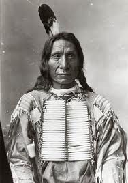 Red Cloud - Oglala - the only Native American leader ever to win a war against the United States Army. In the 1860s he destroyed Captain William J. Fetterman's command, closed the Bozeman Trail, and forced the United States to a peace conference.