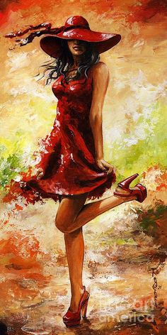 Spring Breeze Painting by Emerico Imre Toth