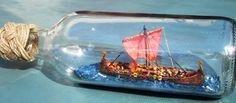 Ett Vikingaskepp, 'drakskepp'